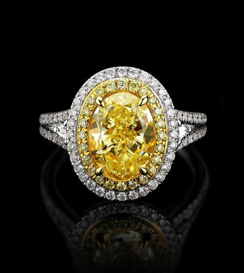 稀世彩色的钻石欣赏