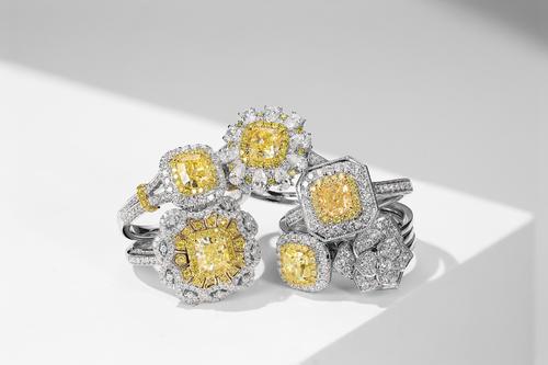 黄钻石,围绕在身边的晚霞