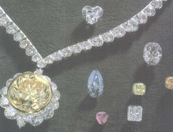 选择镶嵌钻石首饰有技巧  选择颜色材质有讲究