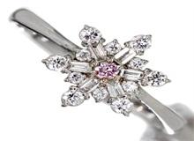 粉钻戒指图片  粉钻戒指图片款式欣赏