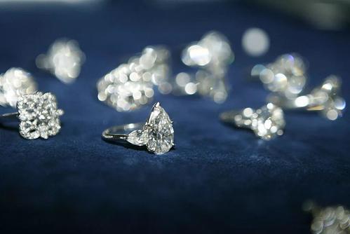 钻石小鸟2克拉橄榄形裸钻款式展示