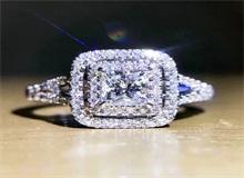 钻石小鸟5克拉公主方钻款式 钻石小鸟裸钻定制