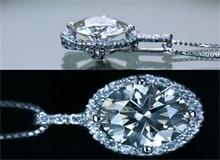 2克拉椭圆形颜色D级裸钻 钻石小鸟裸钻定制